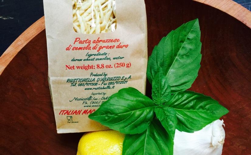 Zucchini, Lemon and RicottaPasta
