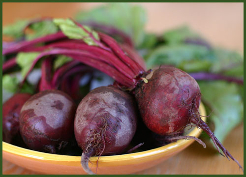 Roasted Beets and BeetGreens