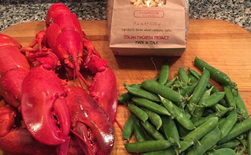 Lobster and Summer PeaPasta